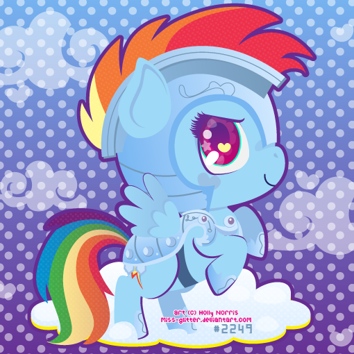Rainbow Dash by Miss-Glitter