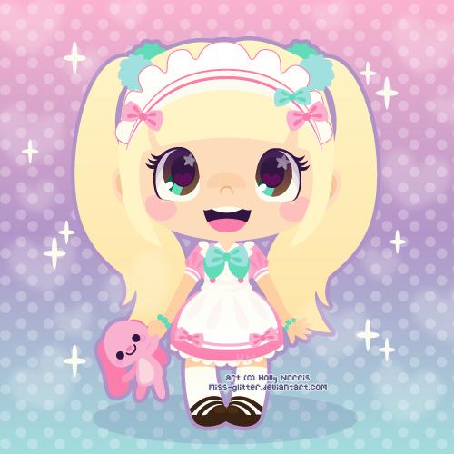 c: Maid Keiki by Miss-Glitter