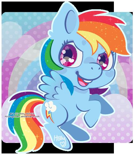 Rainbow Dash by Miss-Glitter