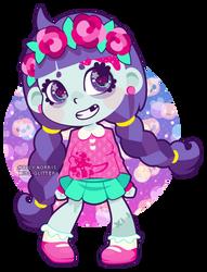 Little Zombie Rose by Miss-Glitter