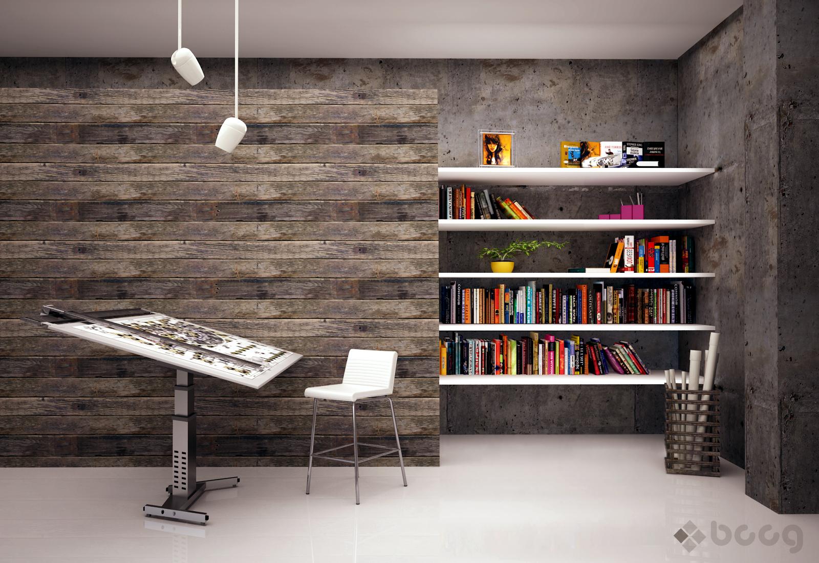 Architect 39 s studio by saescavipica on deviantart for Architecture studio