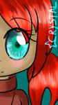Ocean Eyes and Red Hair