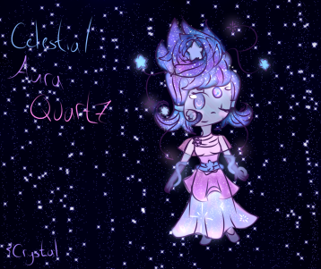 Celestial Aura Quartz by SakuraCrystalKatana