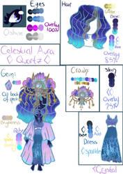Celestial Aura Quartz