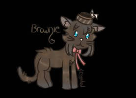 Brownie by SakuraCrystalKatana