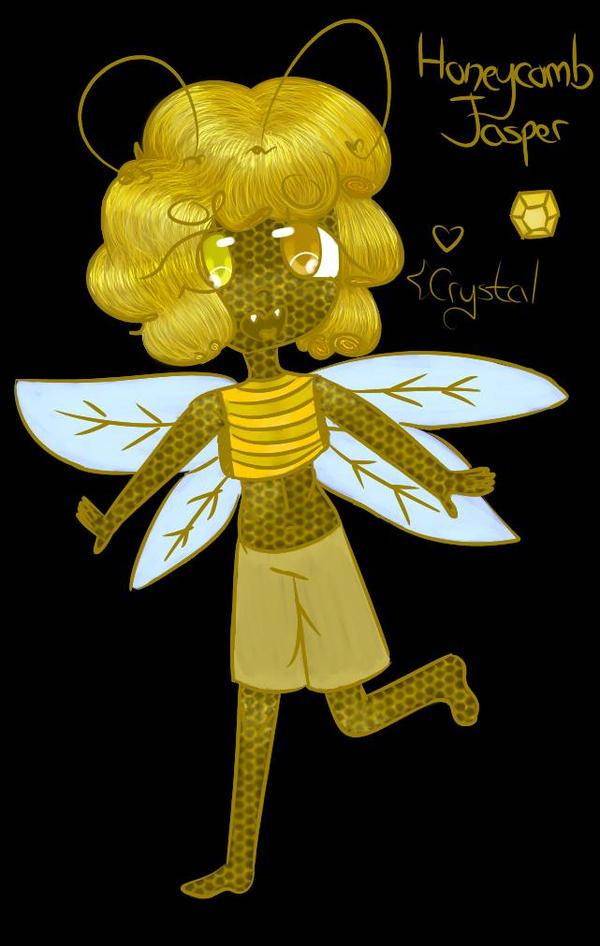 Honeycomb Jasper by SakuraCrystalKatana