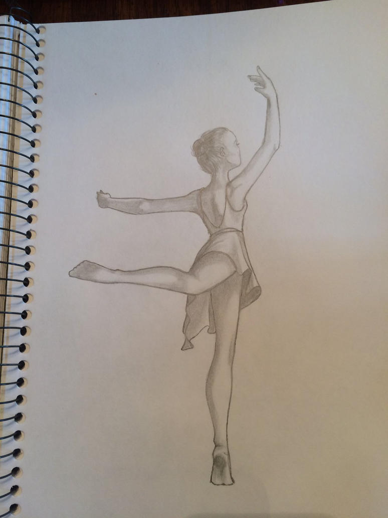 Arabesque from behind by Kat305
