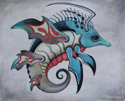 Shrimp dragon
