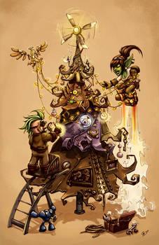 Goblin, Gnome and Tree