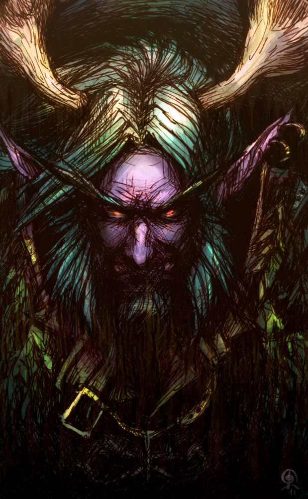 Almost Malfurion by FreakyKitty