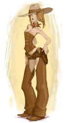 Steam Cowgirl