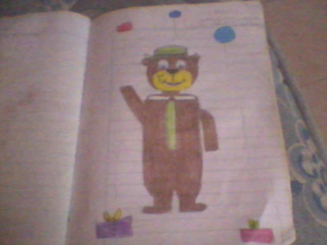 My special drawing of Yogi Bear! by onlycartoons