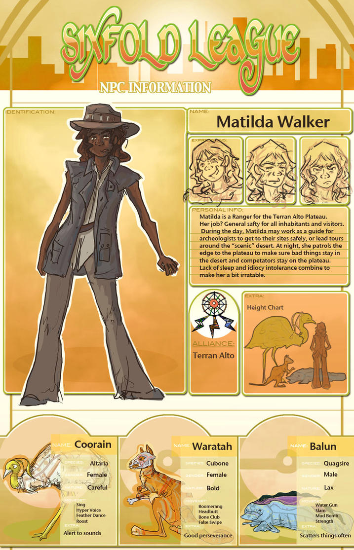 6XL: Matilda Walker by etesian