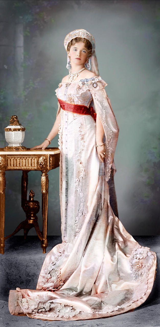 Grand Duchess Olga Nikolaevna of Russia by klimbims