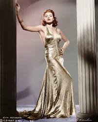 Rita Hayworth by klimbims