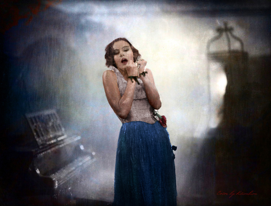 Greta Garbo by klimbims