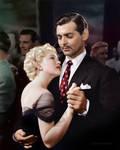 Clark Gable and Lana Turner in Honky Tonk, 1941