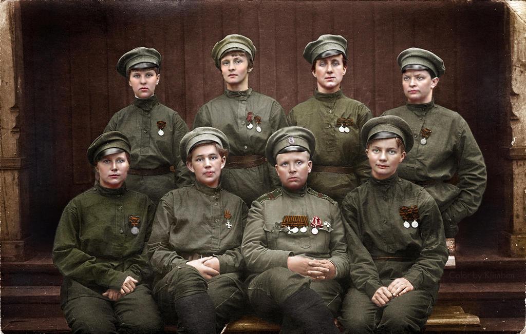 russian womens battalion of death wwi by klimbims on