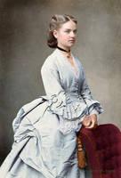 Unknown lady,1870s by klimbims