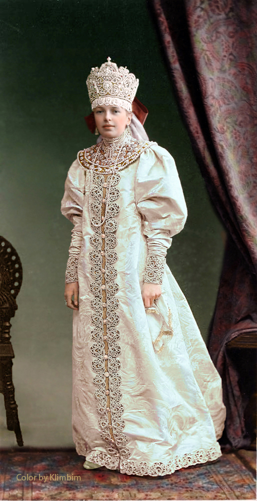 Mademoiselle Olga Baranow by klimbims