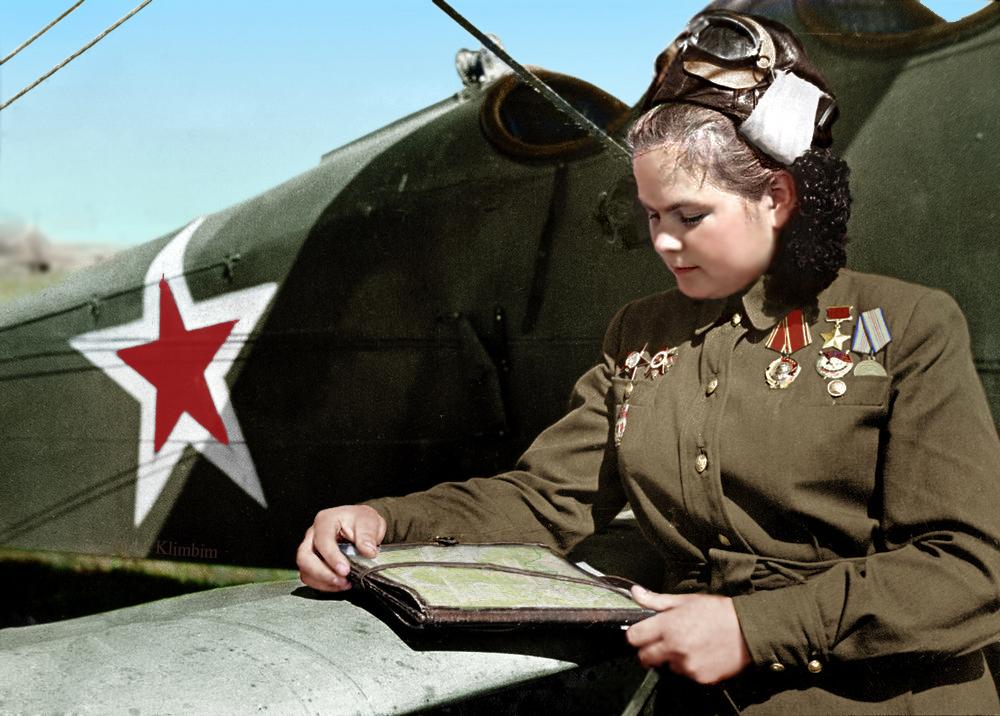 Yekaterina Ryabova, May 1945 by klimbims