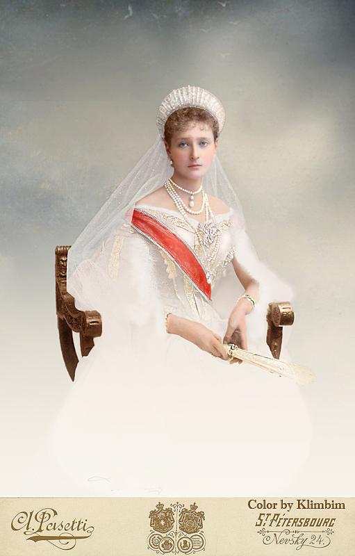 Empress of Russia Alexandra Feodorovna by klimbims