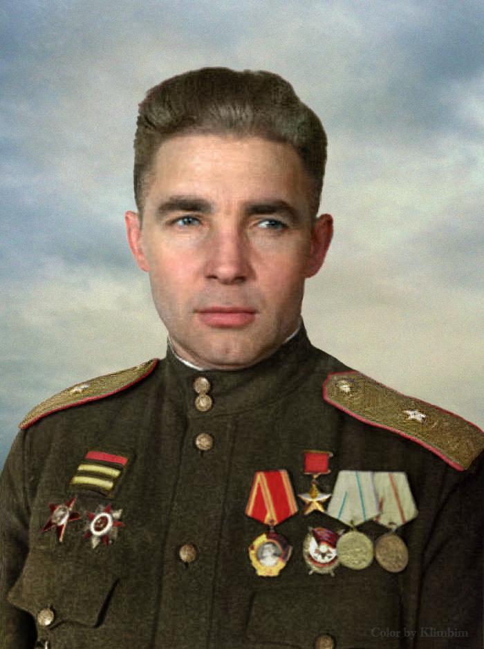 Hero of the Soviet Union Vasily Margelov by klimbims