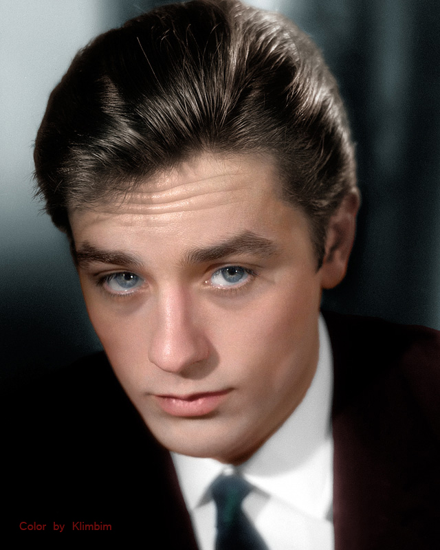 Alain Delon by klimbims