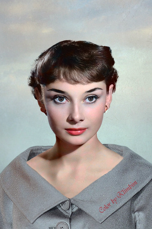 Audrey Hepburn by klimbims