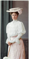 A fashionable lady from Magdeburg, 1905