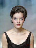 Romy Schneider, 1961 by klimbims