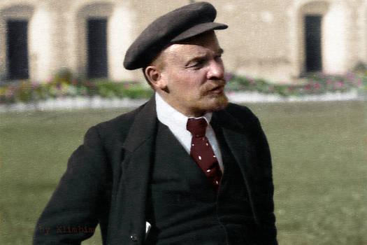 Lenin, Kremlin, Moscow, Russia, 16.10.1918