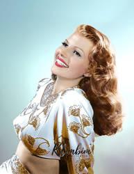 Rita Hayworth - Gilda, 1946 by klimbims