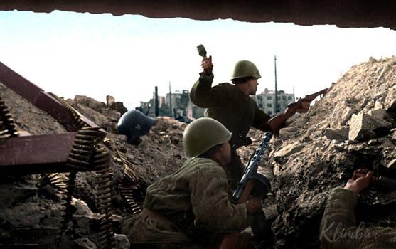 Street battle in Stalingrad