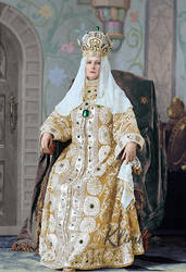 Alexandra Feodorovna, Costume Ball 1903 by klimbims