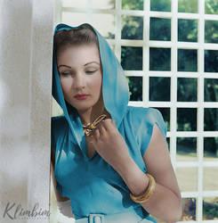 Fawzia Fuad of Egypt, circa 1942 by klimbims
