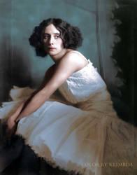 Anna Pavlova, 1913 by klimbims