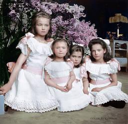 Tsar's daughters by klimbims