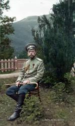 Nicholas II, Crimea, May 1914 by klimbims