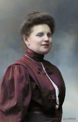 Anna Demidova by klimbims