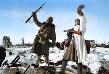 Liberation Of Stalingrad, Feb 1943 by klimbims