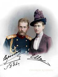 GD Serge and Elizaveta by klimbims