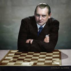Alexandre Alekhine by klimbims