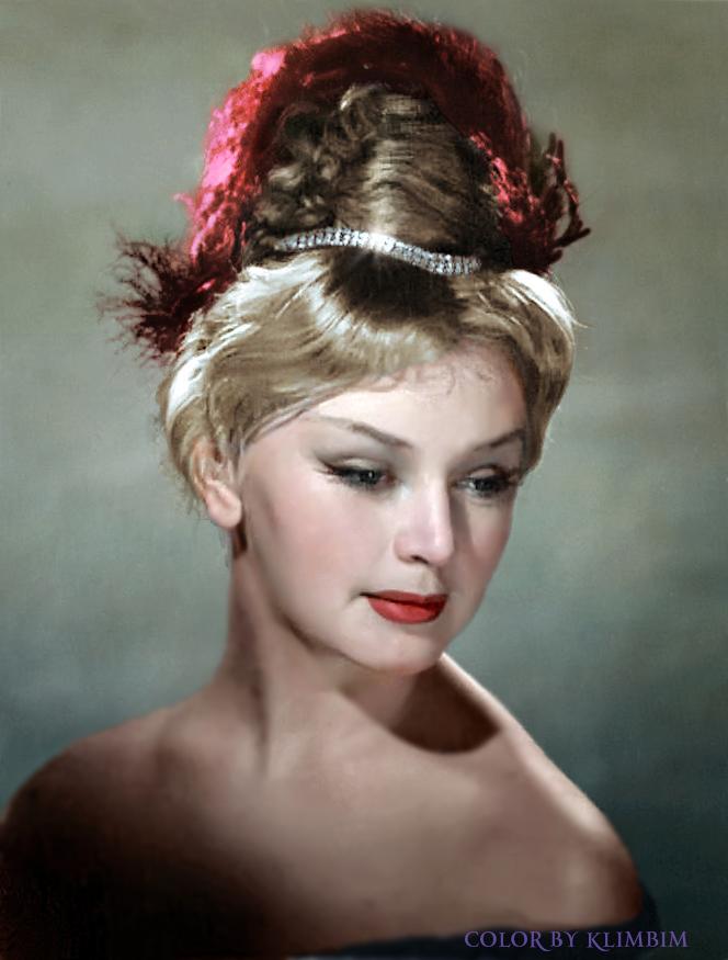 Soviet actress Valentina Titova by klimbims