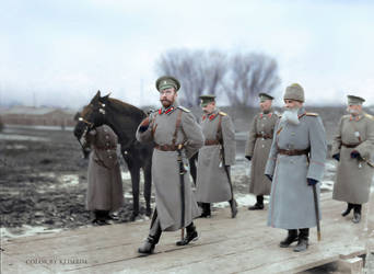 Nicholas II, WW1 by klimbims