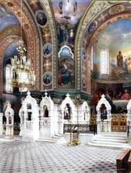 Epiphany Church on Gutuevsky Island (S-Petersburg) by klimbims