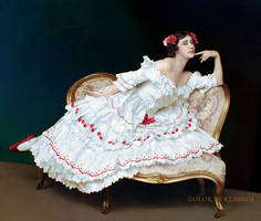Tamara Karsavina as Columbine in Carnaval
