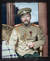 Nicholas II 1908