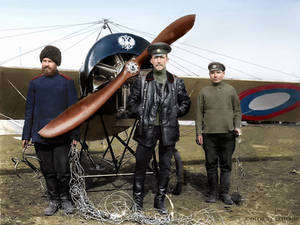The best Russian ace fighter in the WW1