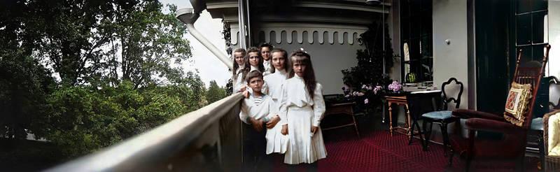 Peterhof, July 1909